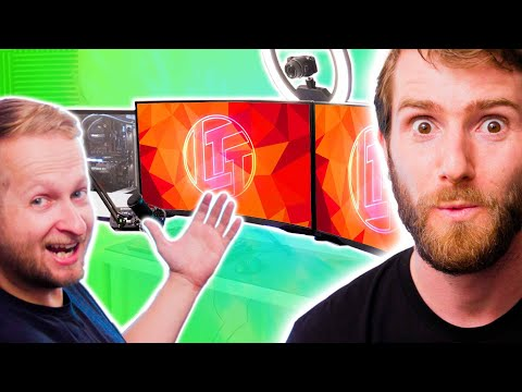 A SICK Streaming Setup for Colton – Intel $5,000 Extreme Tech Upgrade