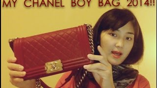 MY NEW CHANEL BOY BAG!!!(quick UNBOXING & REVIEW)