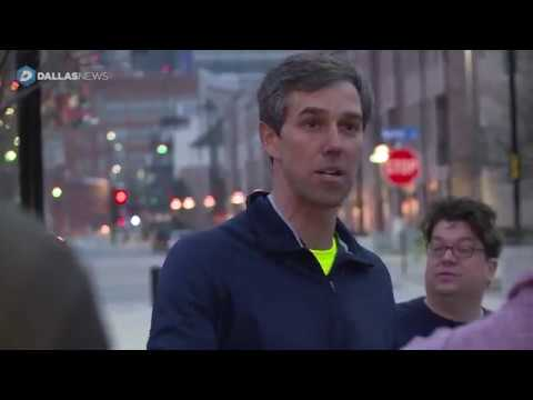 Going on a run with Beto O'Rourke