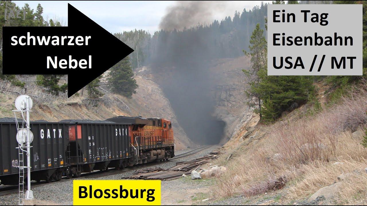Download Der schwarze Nebel von Blossburg - Mullan Pass - Montana Rail Link - Ein Tag Eisenbahn USA - AE #304