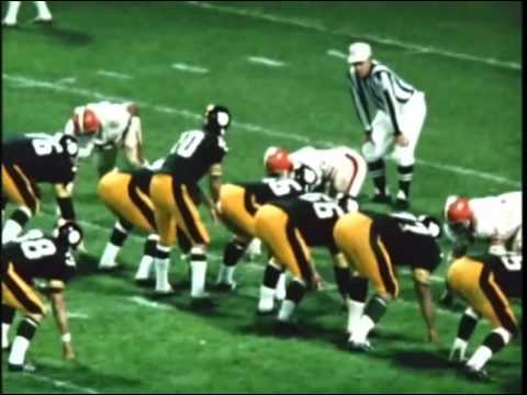 1969 Steelers at Browns Game 5