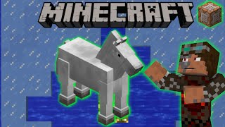 Frost Walker for Horses in Minecraft 1.9  (1-Command-Mini-Machine)