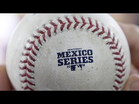 Game-used baseballs from a NO-HITTER in Monterrey, Mexico!