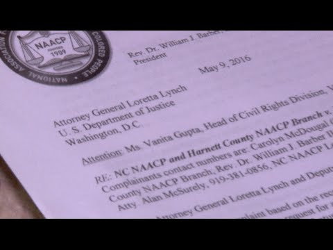 NC NAACP Files Federal Complaint for Investigation of the Harnett County Sheriff's Department