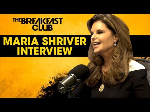 Maria Shriver Discusses The Human Condition, Gratitude, Her Kennedy Ties  More