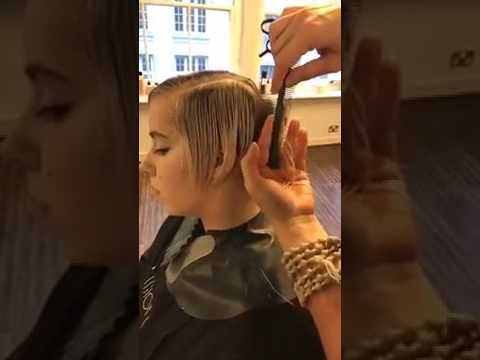 Short layered haircuts tutorial Step by Step – Short hairstyles women 2017 – Allilon Educa