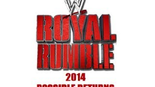 WWE Royal Rumble 2014 Possible Returns
