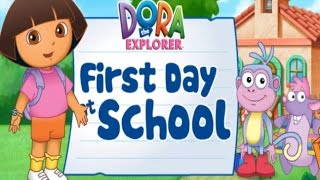 DORA THE EXPLORER | DORA FIRST DAY AT SCHOOL | DORA | GAMES FOR KIDS