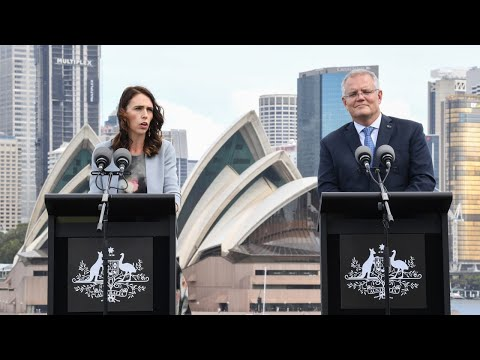 Australia Is Not A 'punching Bag' For Adern To Use During Her Re-election Campaign