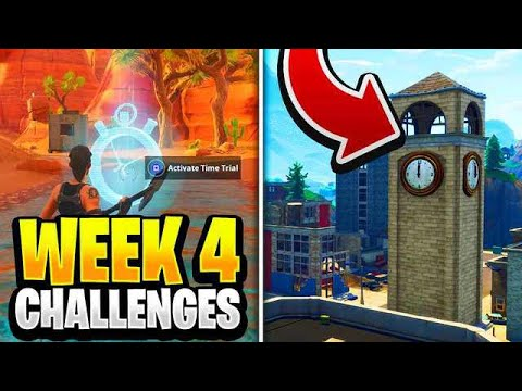 Fortnite Season 6 Week 4 Challenges Guide How To Do Week 4