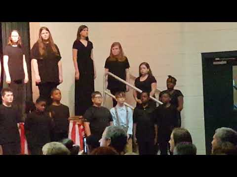 Ware County Middle School chorus