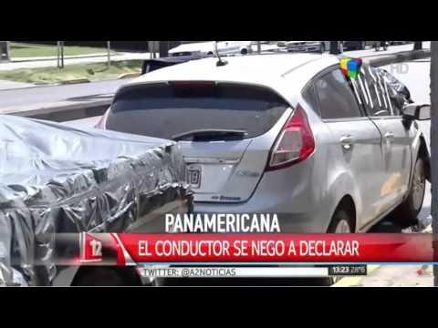 Trágico accidente en Panamericana: El conductor estaba borracho