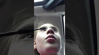How I Do My Eyelashes In The Car