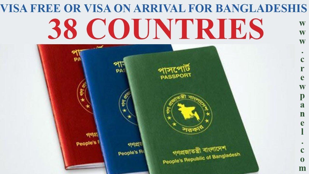 Visa exemption for Bangladeshi official passport   List of visa free  countries for Bangladeshis