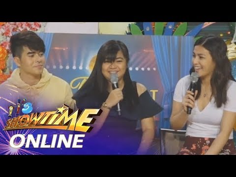It's Showtime Online: Karen Mae Baula shares that her sister trained her to sing