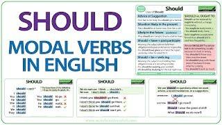 SHOULD - English Modal Verb