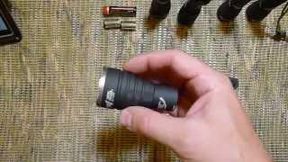 Відео огляд тактичного і щоденного ліхтаря ''Armytek'' Viking Pro v3.