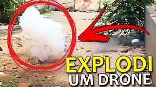 EXPLODI UM DRONE