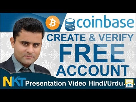 How to create Coinbase account Hindi/Urdu by NKT