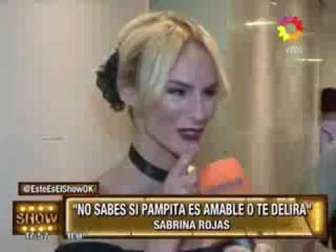 Sabrina Rojas, por Pampita: No sabes si te está delirando o siendo amable