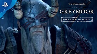 The Elder Scrolls Online - Greymoor Reveal Trailer | PS4