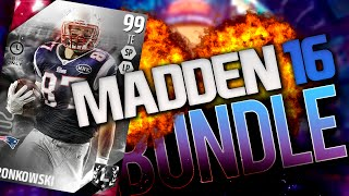101 CIT BOSS GRONK! REDZONE BUNDLE PACK OPENING! | Madden 16 Ultimate Team