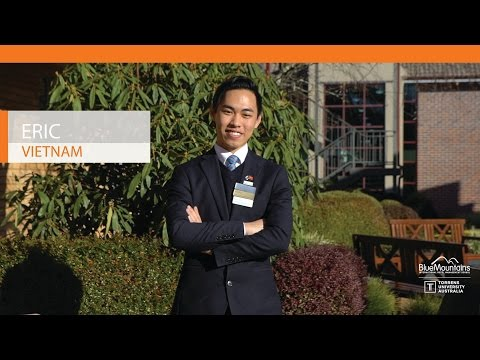 Eric, Vietnam, Bachelor of Business, International Hotel and Resort Management
