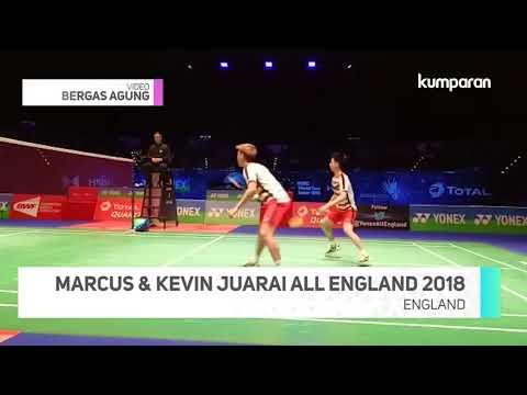 Download Youtube: Detik-detik Marcus dan Kevin Juarai All England 2018