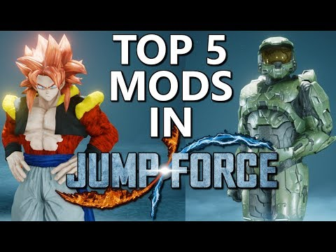 Jump Force Mods TOP 5 JUMP FORCE MODS PC MARCH 2019