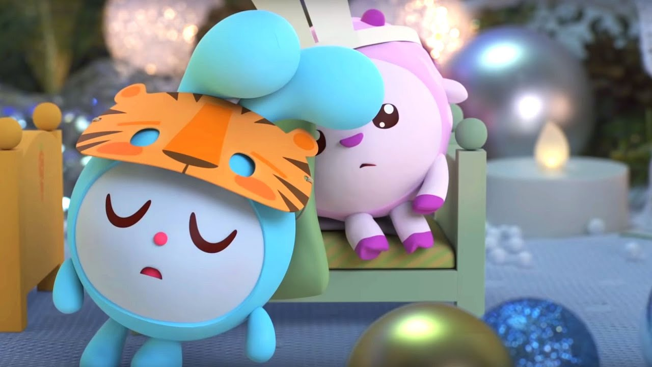 Малышарики - Зимние каникулы | Удивительные серии - YouTube