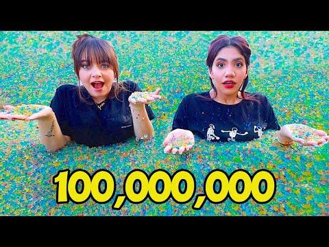 عبيت 100,000,000 من الكرات السحرية داخل اكبر مسبح بالعالم !!! 🤯🤯🤯 - ARABIC MO VLOGS