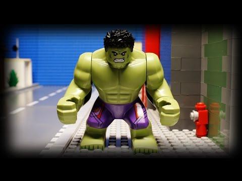 Lego Hulk's Day Off