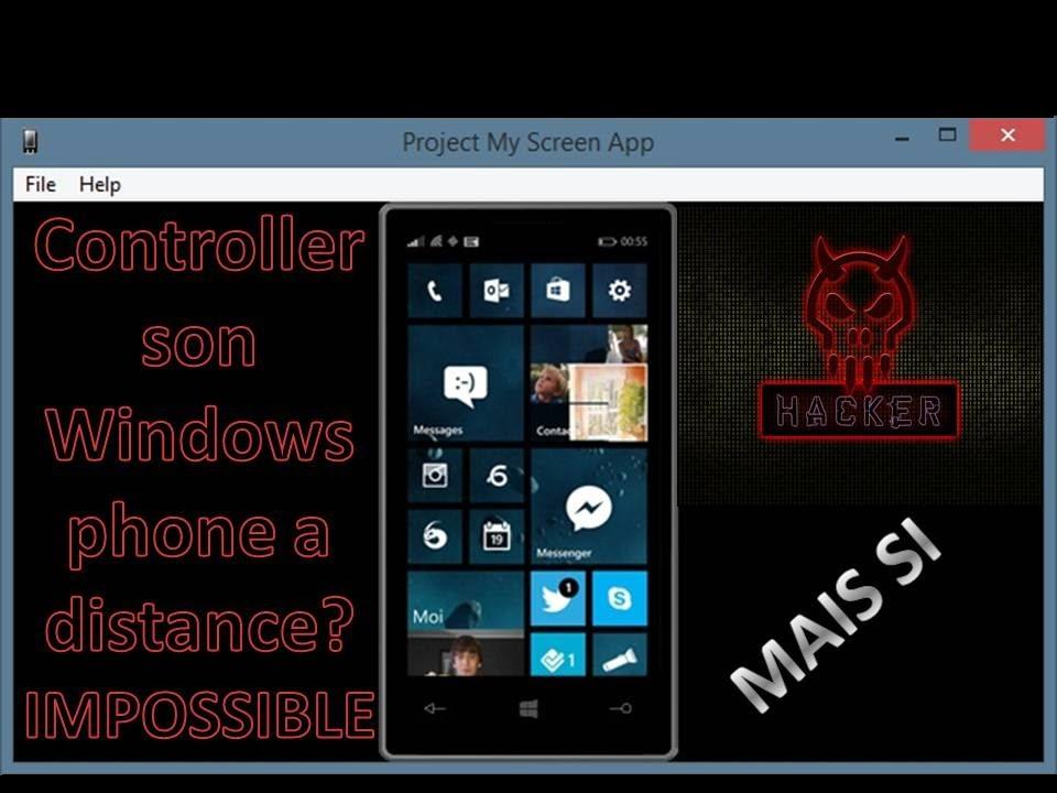 [TUTO] Controller Son Windows Phone Sur Son PC