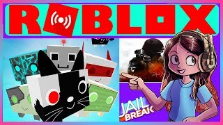 ROBLOX ( october 7th ) Live Stream HD jailbreak Update , Phantom Forces and Pet Simulator