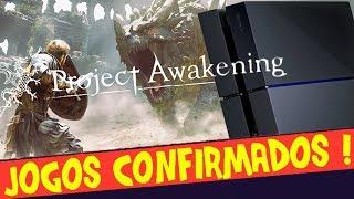 SONY CONFIRMA JOGOS (Sim, Project Awakening está!) NO EVENTO TOKYO GAME SHOW