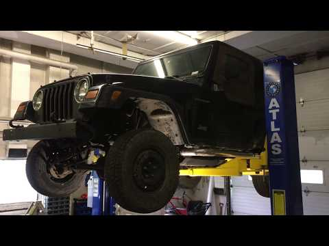 Wrangler TJ Clutch Master Slave Cylinder Troubleshooting and