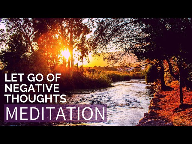 Watch your thoughts meditation | Release anxiety meditation