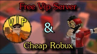 How To Buy So Cheap Robux ! / Free Vip Server Jailbreak / Roblox