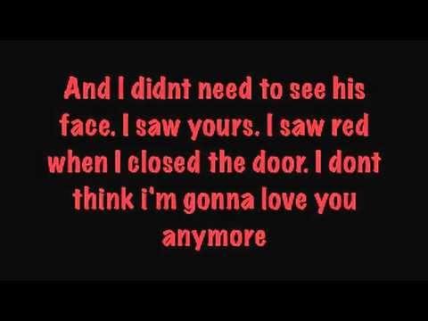 Warrant - I Saw Red lyrics
