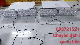 cách đấu bo mạch đèn led ưu tiên xe cứu thương  hyundai  starex  0937215215