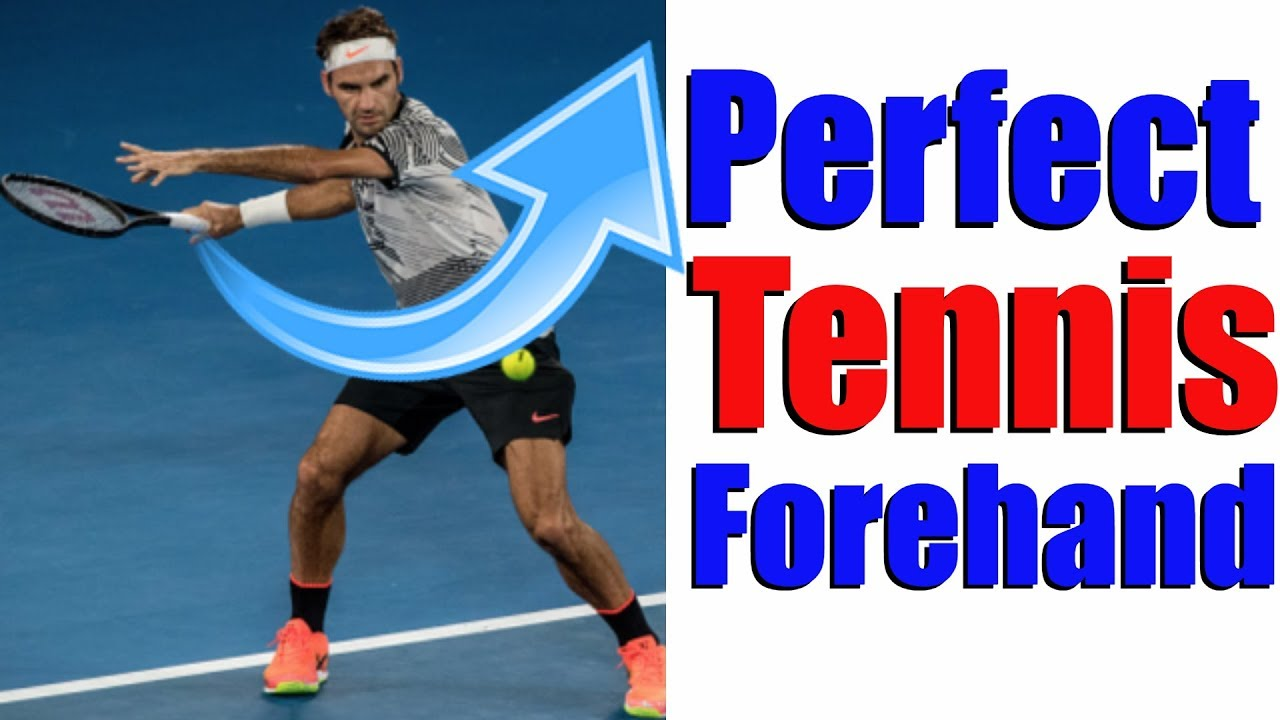 How To Hit The Perfect Tennis Forehand In 5 Simple Steps Youtube
