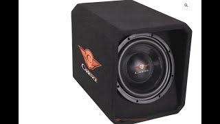 ¡Caja Acústicas BassReflex con sub de 10!