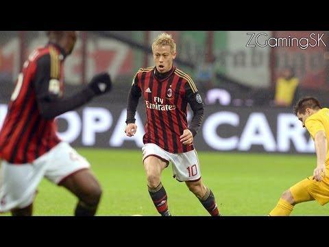 "Keisuke Honda | Debut with AC Milan 2013-2014 | ""Rypejakten"" | ® ᴴᴰ"