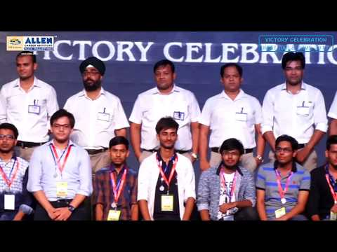 ALLEN Victory Celebration: Honoring of Ranks 101 to 5000 in NEET & Ranks 51 to 1000 in AIIMS 2017