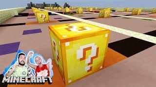 LUCKY BLOCKS RENNEN! Kaan vs Nina in Minecraft! Wer gewinnt das Race? #KaNiZocken