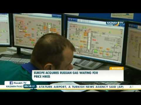 Europe acquires russian gas waiting for price hikes - Kazakh TV