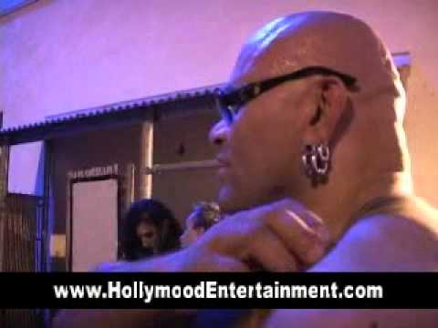 A Moment With Konnan The Pro Wrestler Backstage