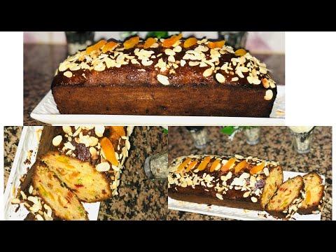 recette-cake-anglais-aux-fruits-confits-//-الكيك-الإنجليزي-بطريقة-مبسطة