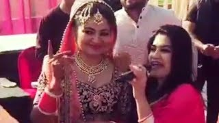 Sunakhi song and dance by kaur b on marriage | Viral by fun valley