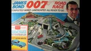 Vintage Sears James Bond 007 Road Race 1965 Set By AC Gilbert
